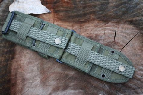 esee 5 molle back and pouch esee 5 6 molle back od bushcraft canada