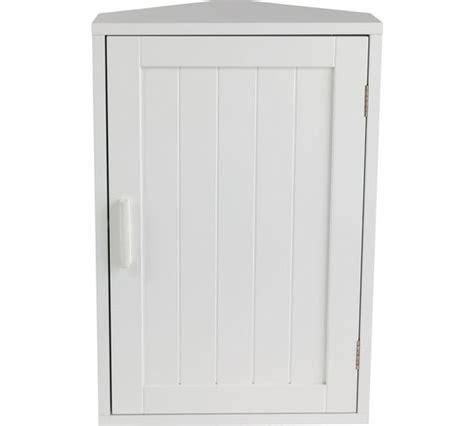 white corner bathroom cabinet buy home wooden corner bathroom cabinet white at argos