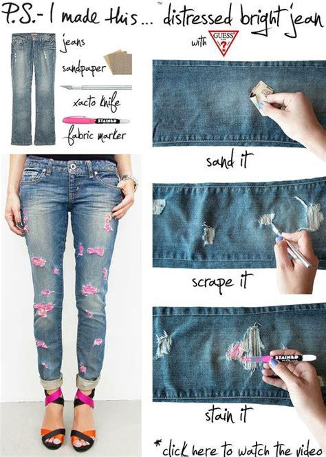 como decorar jeans ideas para decorar tus jeans 171 ideas consejos
