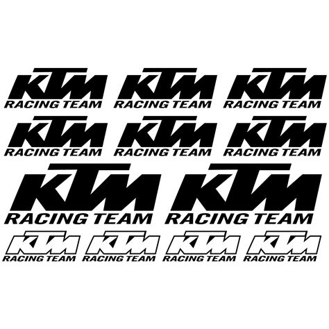 Sticker Pentru Kawasaki by Stickeredecorativ Autocolant Ktm Racing Team