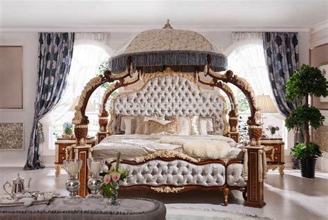 Rococo Bedroom Set | italian french rococo luxury bedroom furniture dubai