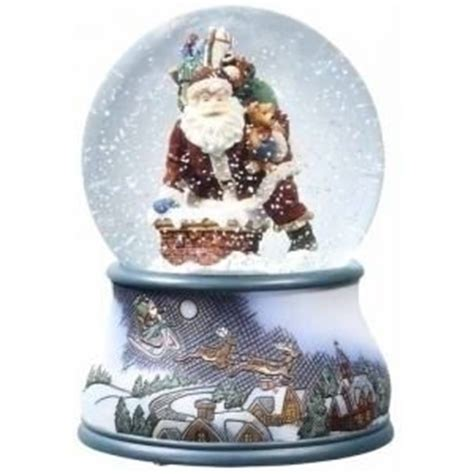 amazon com pack of 2 musical santa claus chimney