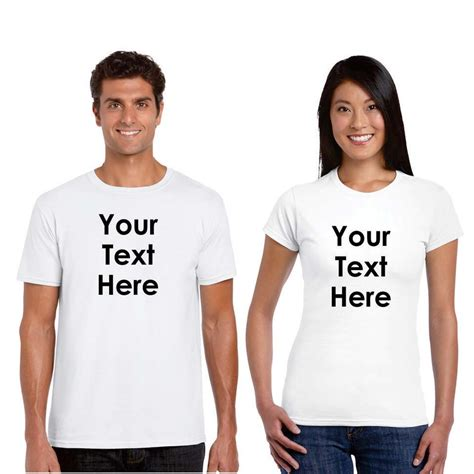 Personalised T Shirts For Couples Personalized T Shirts Giftsmate