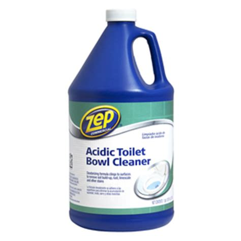 commercial bathroom cleaning products shop zep commercial acidic 128 fl oz toilet bowl cleaner