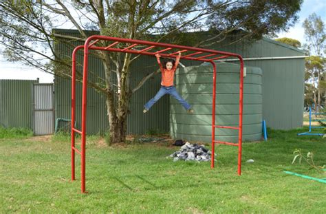 backyard playground australia cubbykraft australia monkey bars playground equipment