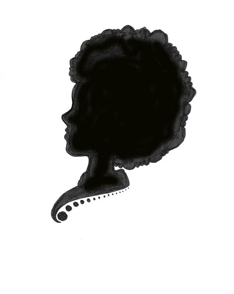 black woman silhouette drawing archives eclectic cycle