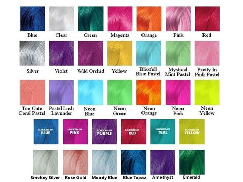 pravana hair color chart pravana vivids hair color chart of pravana vivid hair