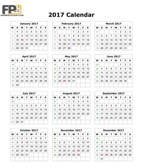 Calendar 2017 Pdf In August 2017 Calendar Pdf Monthly Calendar 2017