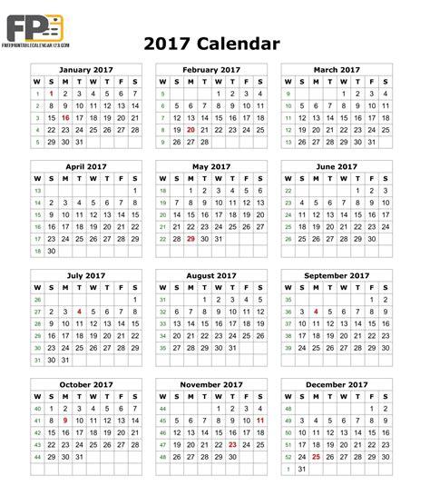 printable planner 2017 pdf august 2017 calendar pdf blank calendar printable