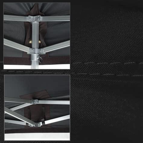 faltpavillon 3x4 wasserdicht duratent faltpavillon hexa50 4x8m schwarz qualit 228 t