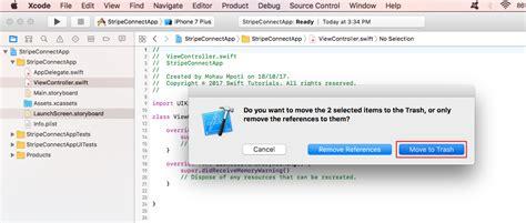 xcode javascript tutorial ios to stripe api authentication swift 3 node js