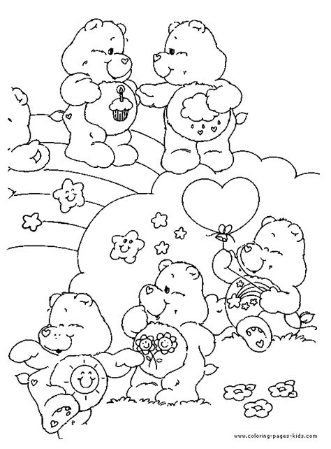 caring family colouring pages