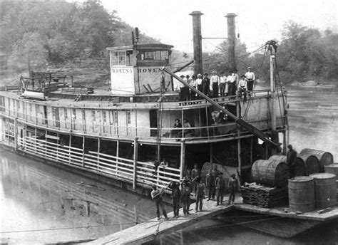 boat r at somerset dam the rowena steamboat russell county ky steamboats