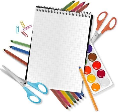 school supplies template vector free school supplies free vector download 1 676 free vector