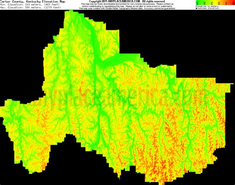 kentucky elevation map free county kentucky topo maps elevations