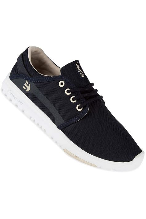etnies scout shoes navy white buy at skatedeluxe