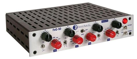 Half Rack Audio Summit Audio Feq 50 Half Rack Passive Parametric Equalizer