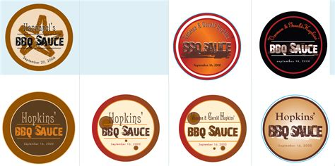 personalized bbq sauce images