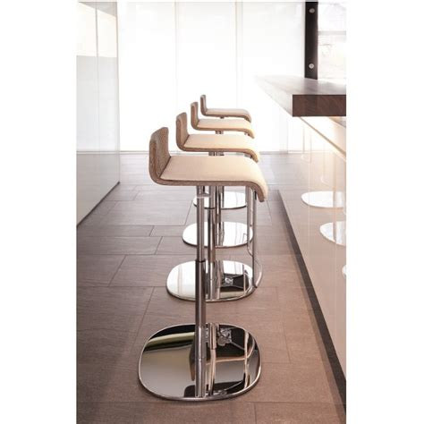 slim profile bar stools slim lift bar stool 02 lloyd loom
