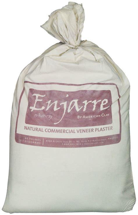 American Clay, Enjarre, Sprayable Clay Plaster, 80 Pound
