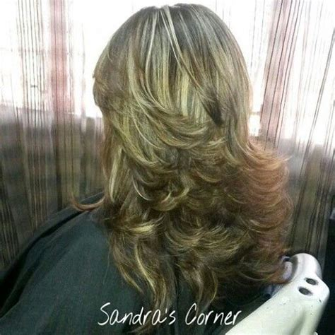 cabello en capas largas 17 best images about cort 233 s de pelo mediano on pinterest