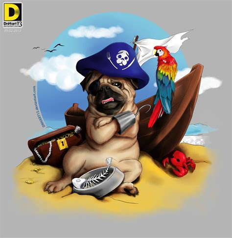 pug rescue oklahoma pirate pug homeward bound pug rescue of oklahoma by dnhart13 on deviantart
