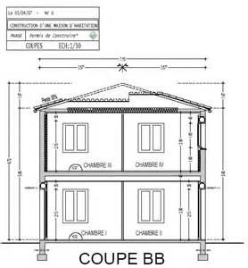 espace plans permis de construire dessin de plans