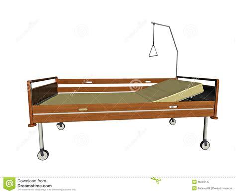 free hospital beds royalty free stock photography hospital bed illustration image 16587117