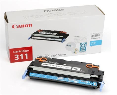Toner Canon 311 mực in canon 311 cyan toner cartridge tech4you vn