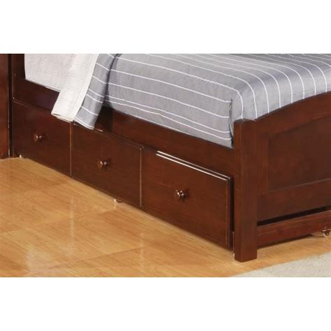 twin bed storage twin bed underbed storage
