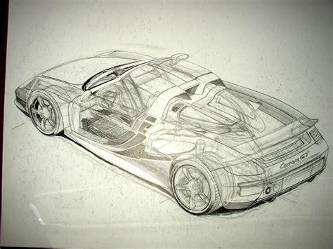 Porsche Design München by Kai Art International Porsche Carrera Gt Drawing