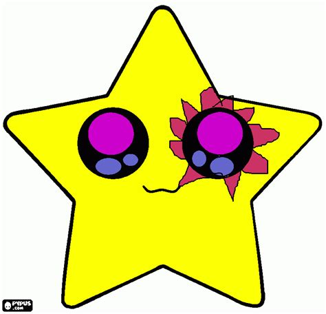yellow star coloring page free coloring pages of the star is yellow