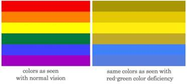 do blind in color color blindness causes types schoolworkhelper