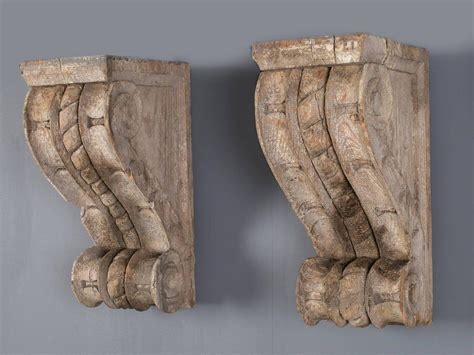 Antique Corbels Pair Of Antique Wall Brackets Corbels Circa 1850