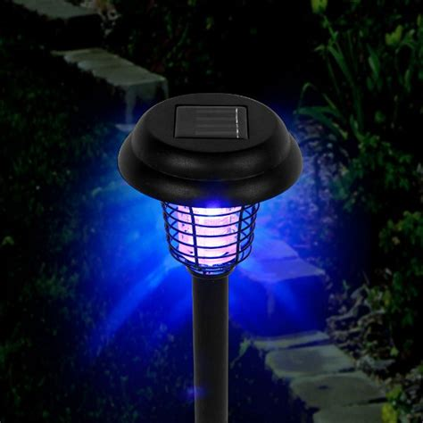 yugster solar bug zapper led and uv by happy cer