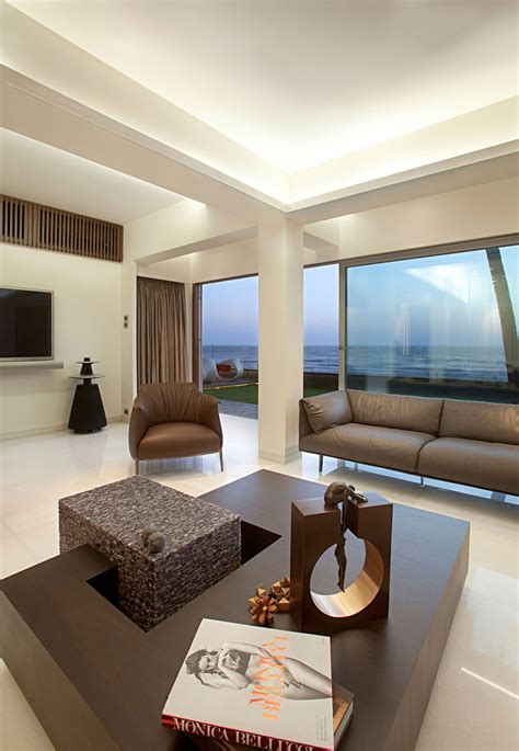 zz design house apartment by the beach in mumbai india by zz architects