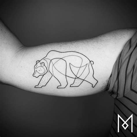 minimalist tattoo nederland new minimalistic single line tattoos by mo ganji mijn