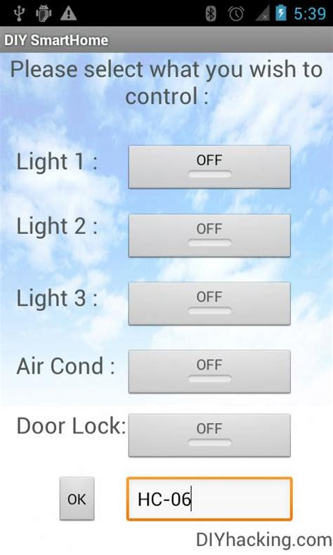 diy android home automation with free smartphone