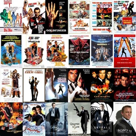 most famous movies 50 years of james bond a fan tribute vadakkus