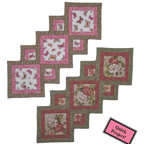 accent  focus table runner pattern quilters warehouses