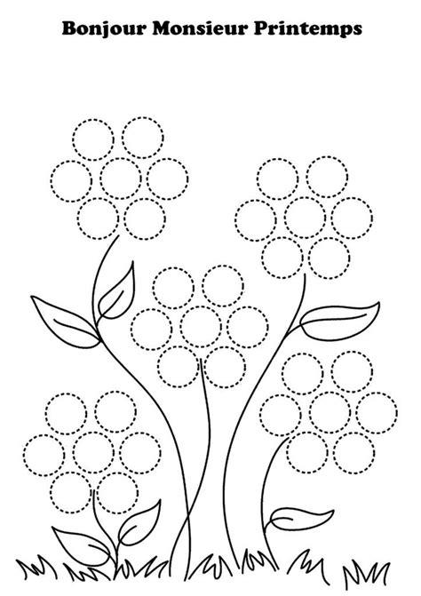 Le blog de nounoucoindespetits | Coloriage printemps