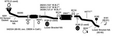 2003 Camry Exhaust System Exploded Diagram 94 Toyota 22re Engine Diagram Get Free Image