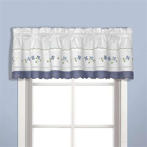 Kitchen Curtains Blue United Curtain Gingham Blue Kitchen Curtain Kitchen Curtains