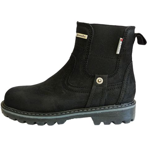 boots boys richter boys black suede waterproof boots richter from
