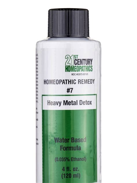 Homeopathic Heavy Metal Detox by Heavy Metal Detox 4 Fl Oz 120 Ml