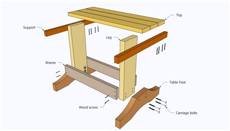 small desk plans free woodwork small plans free pdf plans