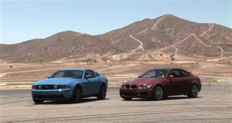ford mustang vs bmw m3 2011 ford mustang gt vs 2011 bmw m3 coupe