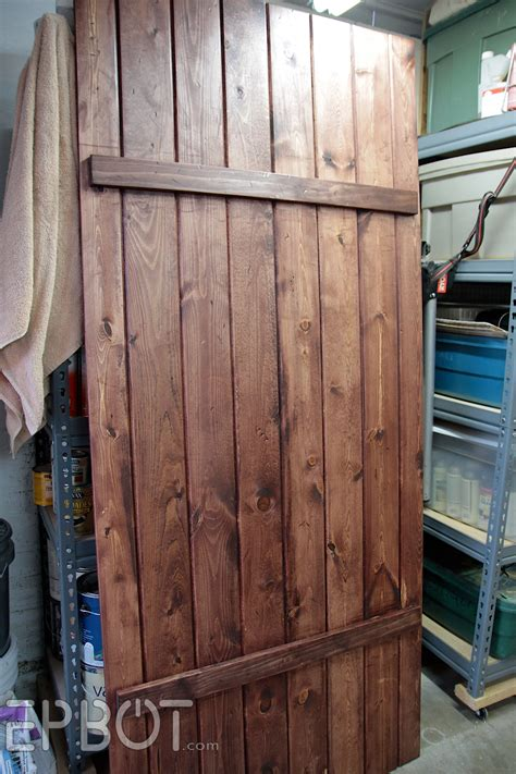 How To Make Your Own Barn Door Hardware Epbot Make Your Own Sliding Barn Door For Cheap
