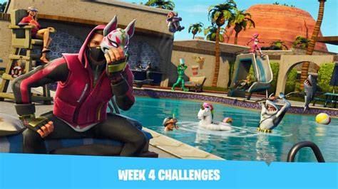 fortnite challenges for season 5 fortnite season 5 week 4 challenges allegedly leaked