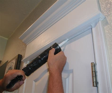 How To Make A Cornice Valance Project Cornice Of Crown Moulding Over Door Front Porch